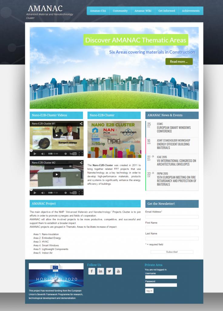 Amanac-website